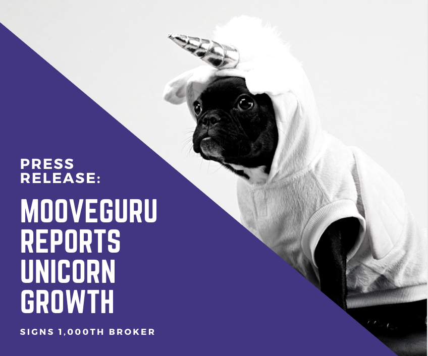 MooveGuru Delivers Unicorn Growth During COVID, Reaching 1,000 offices and 55,000 Agents